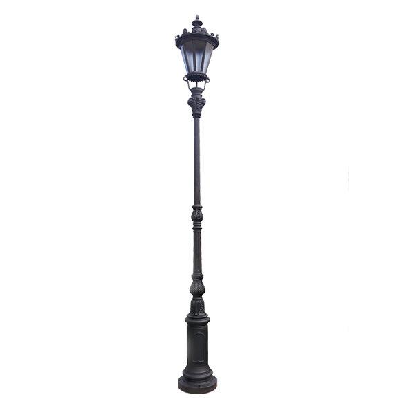 Lanterns on a pole