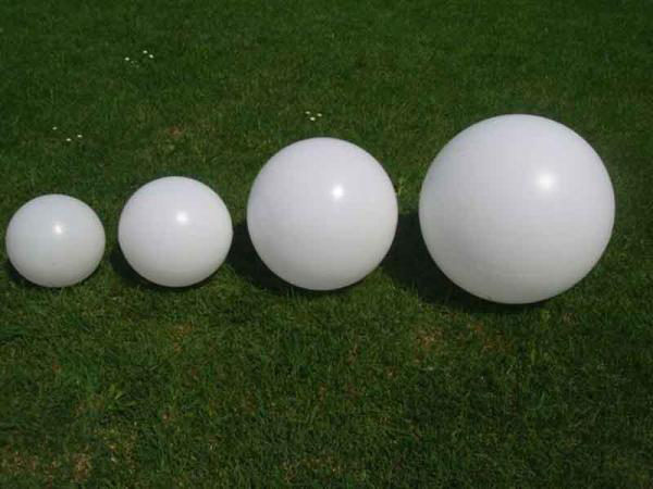 Plastic lighting globe
